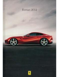 2012 FERRARI HARDCOVER PROSPEKT ITALIENISCH / ENGLISCH