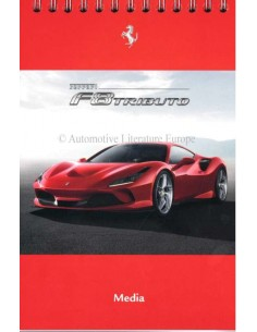 2019 FERRARI F8 TRIBUTO MEDIA BROCHURE ENGELS