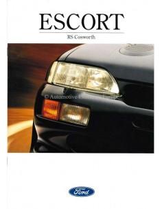 1994 FORD ESCORT RS COSWORTH BROCHURE FRANS