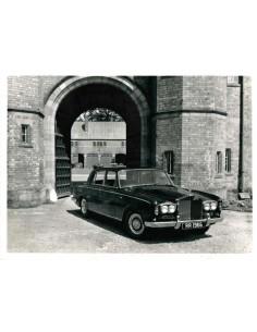 1966 ROLLS ROYCE SILVER SHADOW PERSFOTO