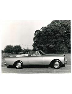 1962 BENTLEY S3 CONTINENTAL PRESSPHOTO