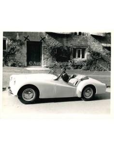 1955 TRIUMPH TR3 CABRIOLET PERSFOTO