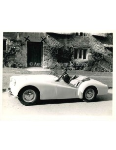 1955 TRIUMPH TR3 CONVERTIBLE PRESS PHOTO