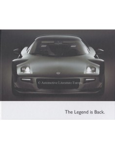 2018 LANCIA STRATOS HARDBACK BROCHURE GERMAN