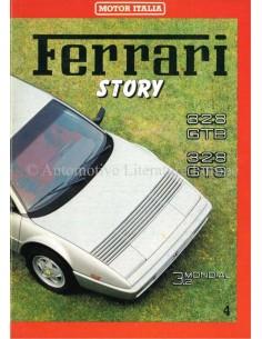 1985 FERRARI STORY 328GTB/GTS MAGAZIN 4 ENGLISCH / ITALIENISCH
