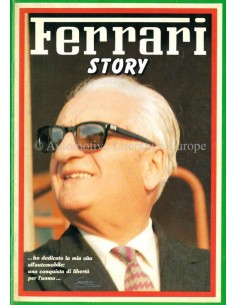 1988 FERRARI STORY ENZO FERRARI MAGAZINE 17 ENGLISH / ITALIAN