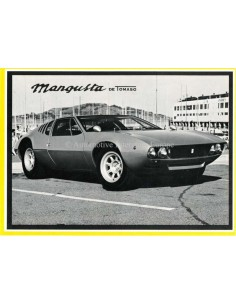 1970 DE TOMASO MANGUSTA BROCHURE ENGLISH (US)