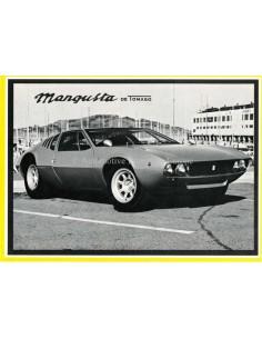 1970 DE TOMASO MANGUSTA BROCHURE ENGLISH (USA)