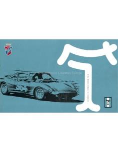 1965 DE TOMASO VALLELUNGA BROCHURE ITALIAN