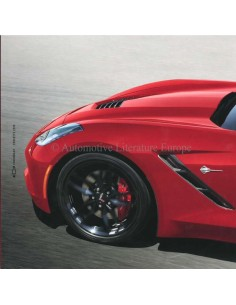 2019 CHEVROLET CORVETTE BROCHURE ENGLISH