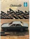 1971 DE TOMASO DEAUVILLE BROCHURE