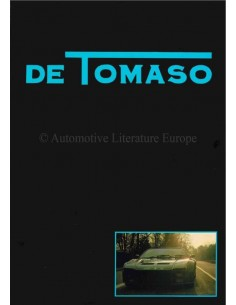 1980 DE TOMASO FRANCE-MONACO BROCHURE FRENCH