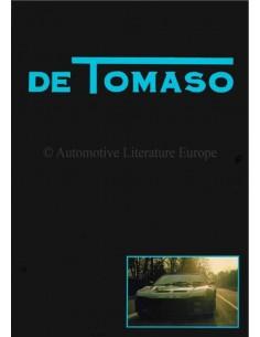 1980 DE TOMASO FRANKRIJK-MONACO BROCHURE FRANS