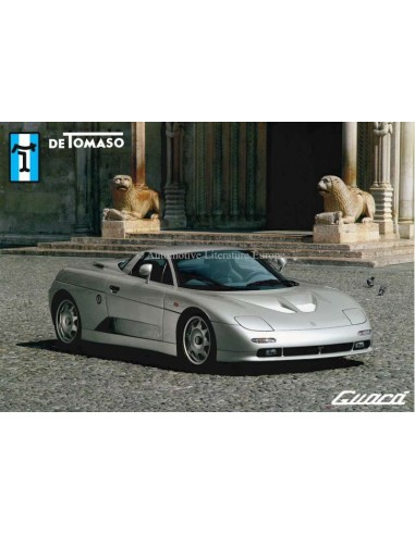 2000 DE TOMASO GUARA BROCHURE