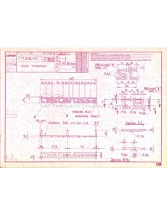 1984 FERRARI TESTAROSSA PRESSEMAPPE ENGLISCH 324/84