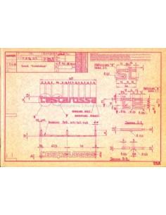 1984 FERRARI TESTAROSSA PRESSEMAPPE ENGLISCH (USA) 324/84