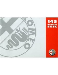 1997 ALFA ROMEO 145 INSTRUCTIEBOEKJE NEDERLANDS