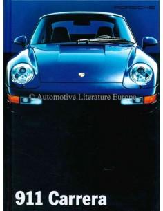 1995 PORSCHE 911 CARRERA HARDBACK BROCHURE GERMAN