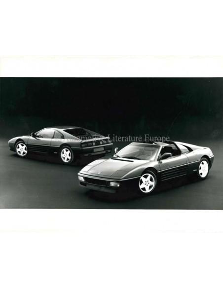 1989 FERRARI 348 PRESS BROCHURE DUITS 572/89