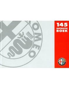 1994 ALFA ROMEO 145 OWNERS MANUAL HANDBOOK DUTCH