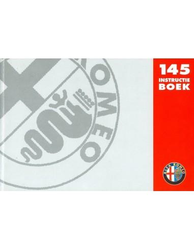 1994 ALFA ROMEO 145 INSTRUCTIEBOEKJE NEDERLANDS