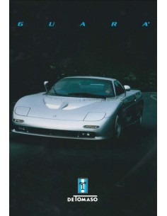 1999 DE TOMASO GUARA BROCHURE