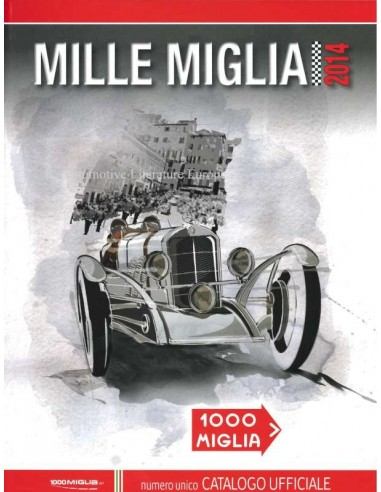 2014 MILLE MIGLIA YEARBOOK ITALIAN
