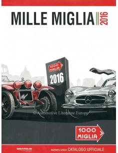 2016 MILLE MIGLIA JAARBOEK ITALIAANS
