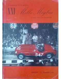 1954 MILLE MIGLIA JAHRESKATALOG ITALIENISCH