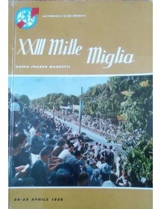 1956 MILLE MIGLIA JAARBOEK ITALIAANS