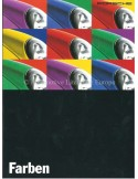 1995 PORSCHE 911 / 928 / 968 COLOURS & INTERIOR BROCHURE GERMAN