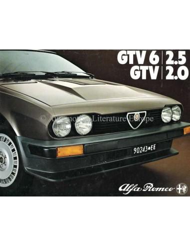 1980 ALFA ROMEO GTV BROCHURE NEDERLANDS