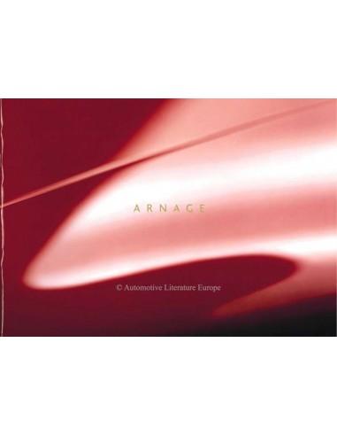 1999 BENTLEY ARNAGE BROCHURE ENGLISH