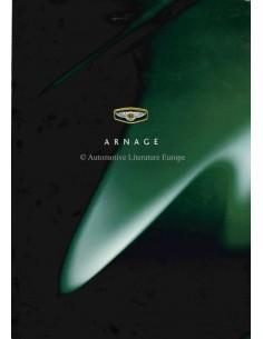 1998 BENTLEY ARNAGE BROCHURE ENGELS