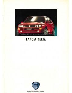 1992 LANCIA DELTA BROCHURE GERMAN