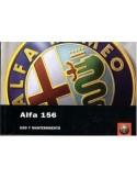 2002 ALFA ROMEO 156 INSTRUCTIEBOEKJE SPAANS