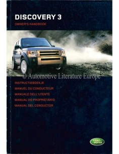 2004 LAND ROVER DISCOVERY 3 OWNERS MANUAL DUTCH
