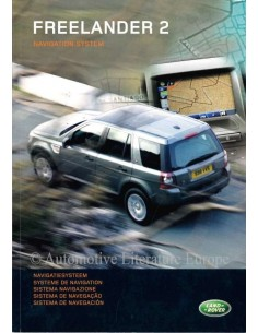 2007 LAND ROVER FREELANDER 2 NAVIGATION SYSTEM OWNERS MANUAL DUTCH