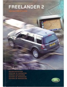 2006 LAND ROVER FREELANDER 2 NAVIGATION SYSTEM OWNERS MANUAL DUTCH