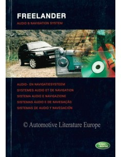 2004 LAND ROVER FREELANDER AUDIO & NAVIGATION SYSTEM OWNERS MANUAL DUTCH