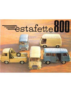 1970 RENAULT ESTAFETTE 800 BROCHURE NEDERLANDS