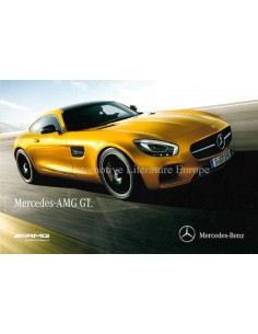 2015 MERCEDES BENZ AMG GT BROCHURE DEUTSCH