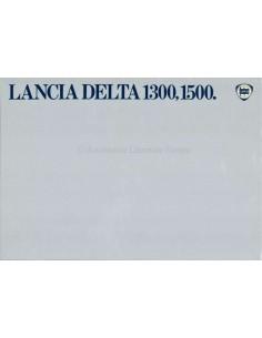 1979 LANCIA DELTA 1300, 1500 BROCHURE ENGLISH