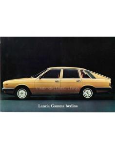1977 LANCIA GAMMA BERLINA BROCHURE