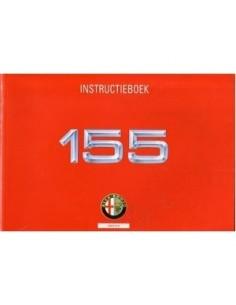 1995 ALFA ROMEO 155 OWNERS MANUAL HANDBOOK DUTCH