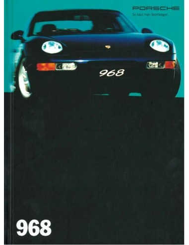 1994 PORSCHE 968 HARDBACK BROCHURE GERMAN