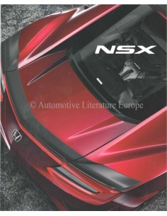 2016 HONDA NSX BROCHURE FRENCH