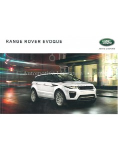 2016 RANGE ROVER EVOQUE BROCHURE DUTCH