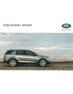 2016 LAND ROVER DISCOVERY SPORT BROCHURE DUTCH