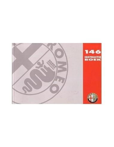 1997 ALFA ROMEO 146 INSTRUCTIEBOEKJE NEDERLANDS